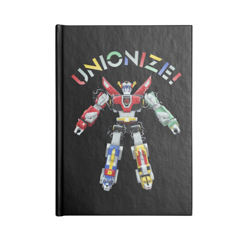 Unionize! Accessories Lined Journal Notebook by Bernie Threads