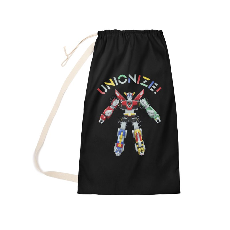 Unionize! Accessories Laundry Bag Bag by Bernie Threads