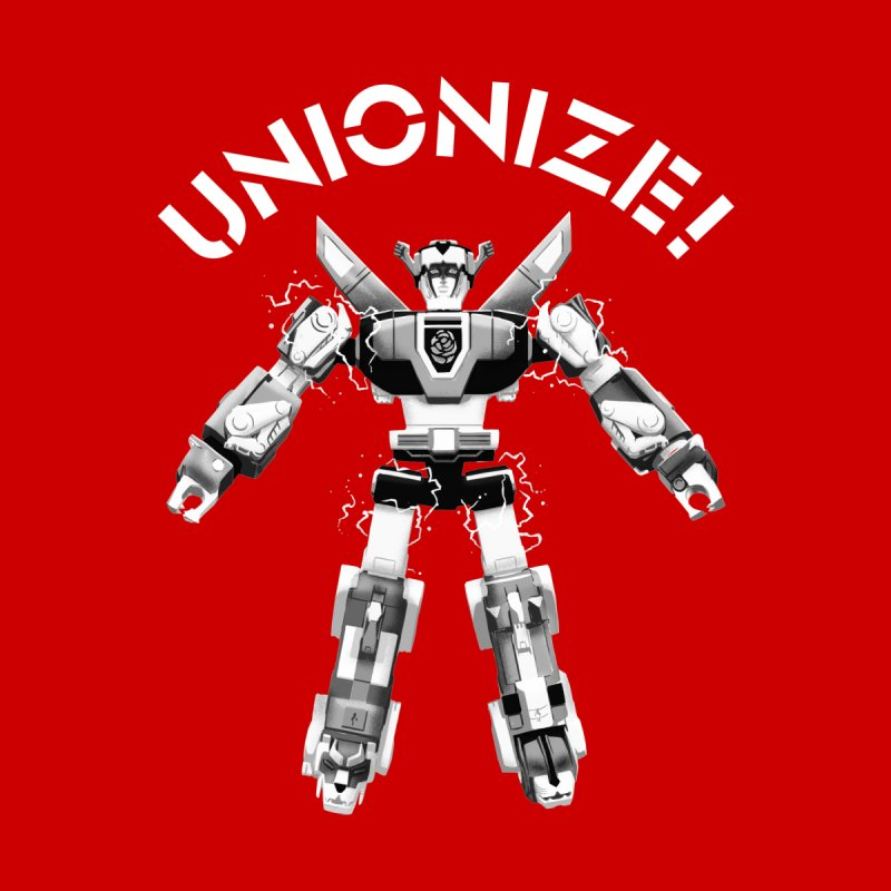 Unionize! Home Throw Pillow by Bernie Threads