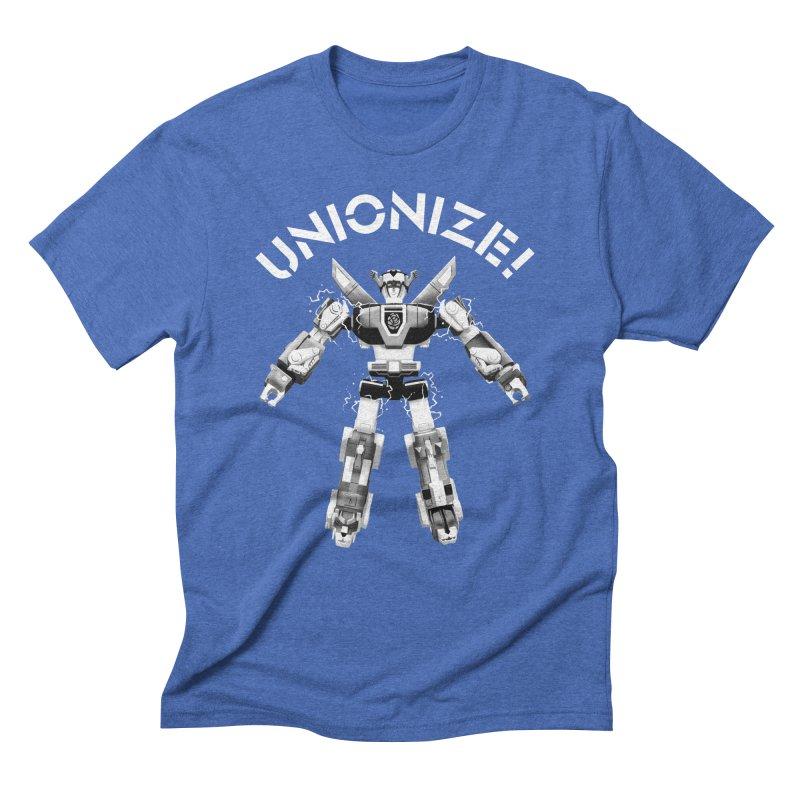 Unionize! Men's T-Shirt by Bernie Threads