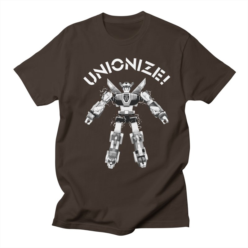 Unionize! Men's T-Shirt by Bernie Threads