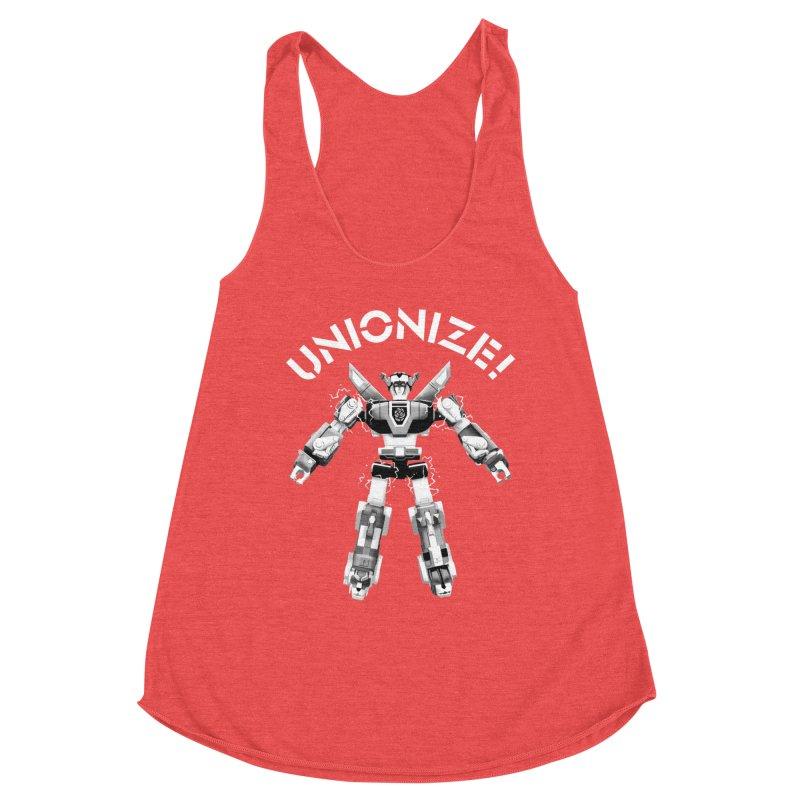 Unionize! Women's Tank by Bernie Threads
