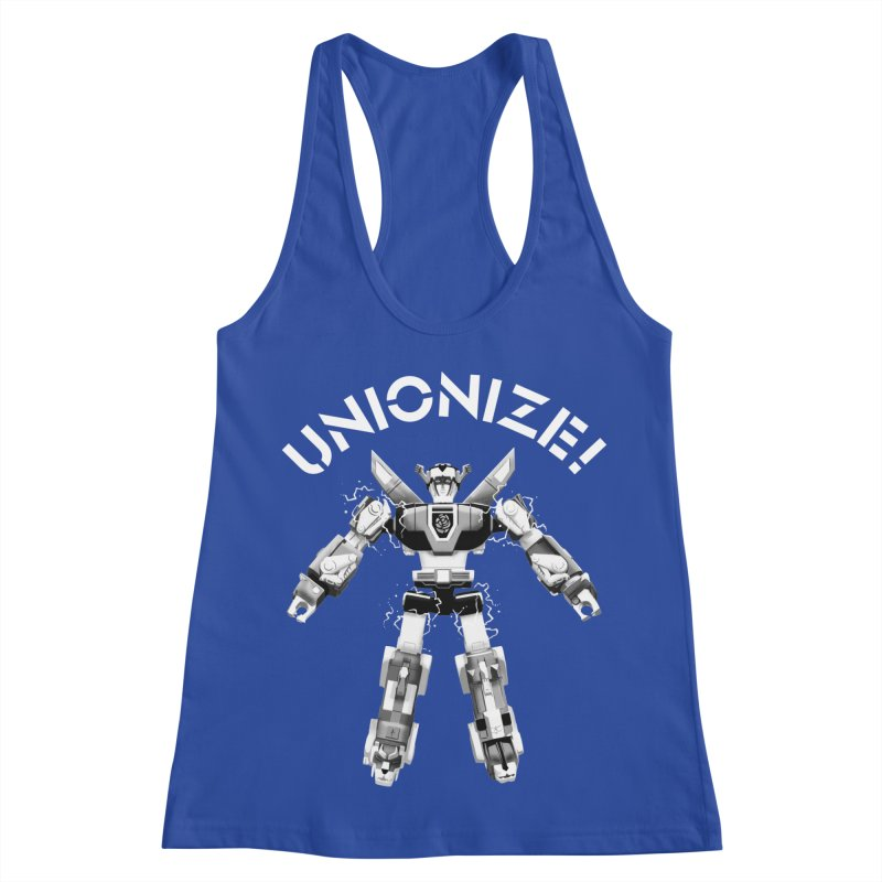 Unionize! Women's Racerback Tank by Bernie Threads