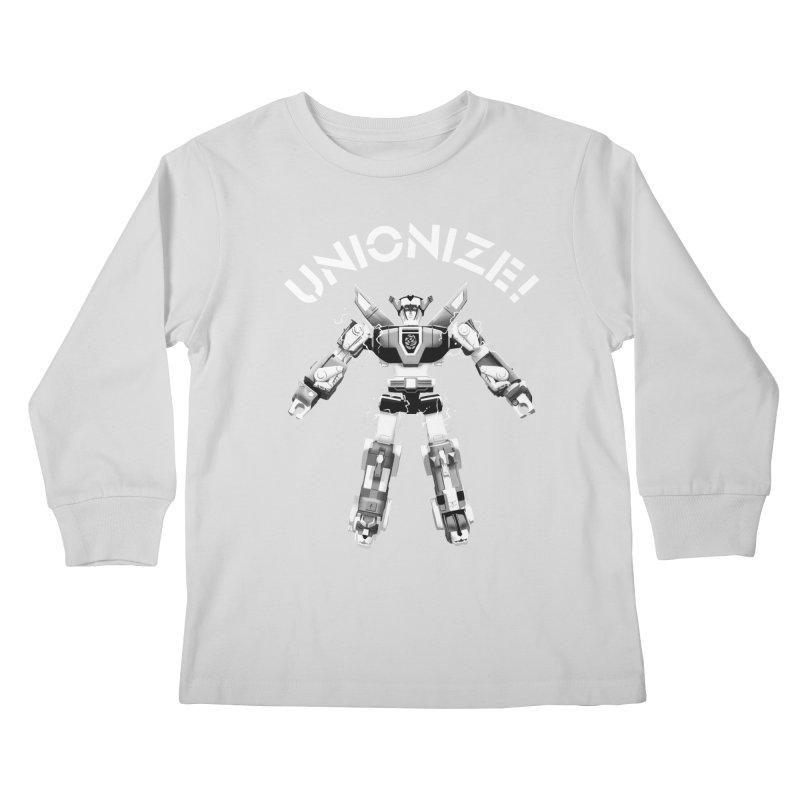 Unionize! Kids Longsleeve T-Shirt by Bernie Threads