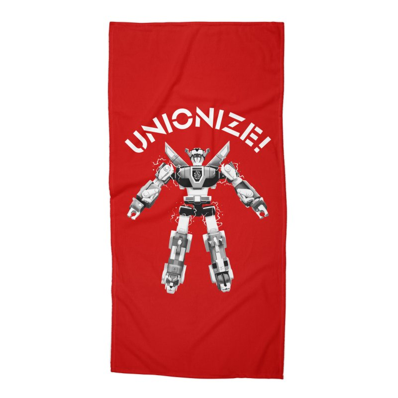 Unionize! Accessories Beach Towel by Bernie Threads