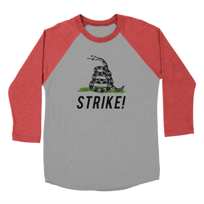 Strike! Women's Baseball Triblend Longsleeve T-Shirt by Bernie Threads
