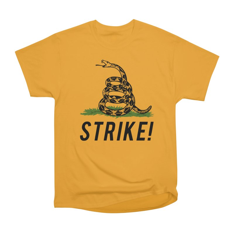 Strike! Men's Heavyweight T-Shirt by Bernie Threads