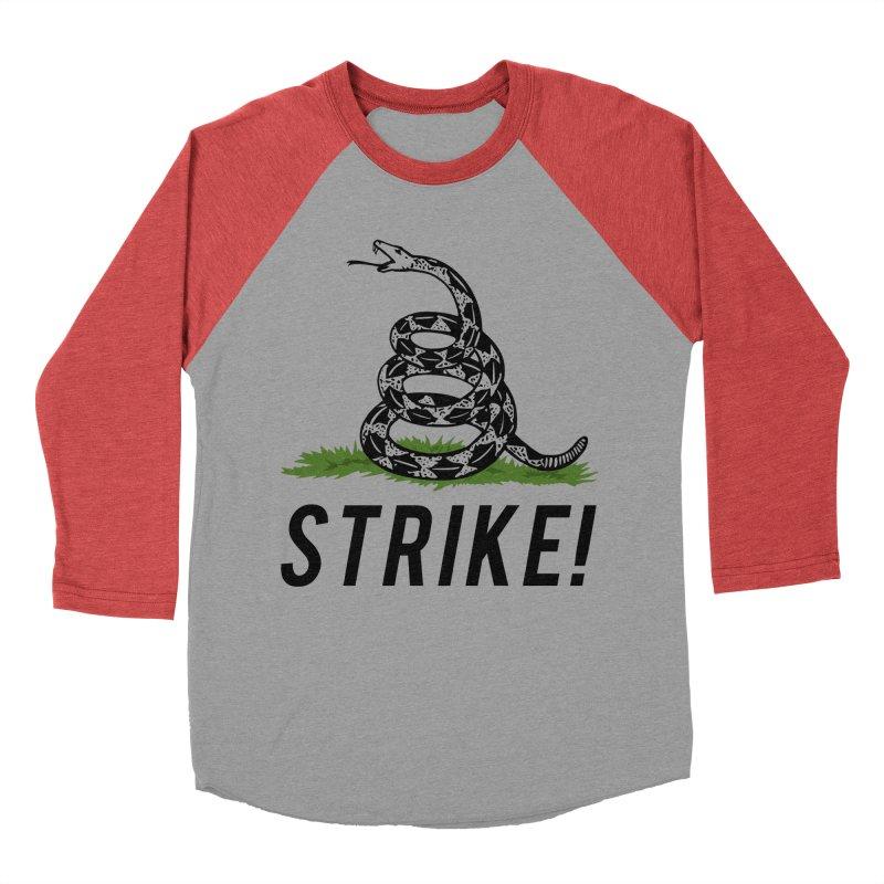 Strike! Women's Baseball Triblend Longsleeve T-Shirt by Bernie Threads