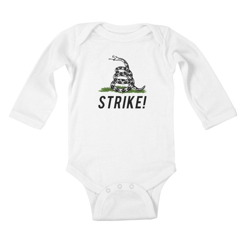Strike! Kids Baby Longsleeve Bodysuit by Bernie Threads