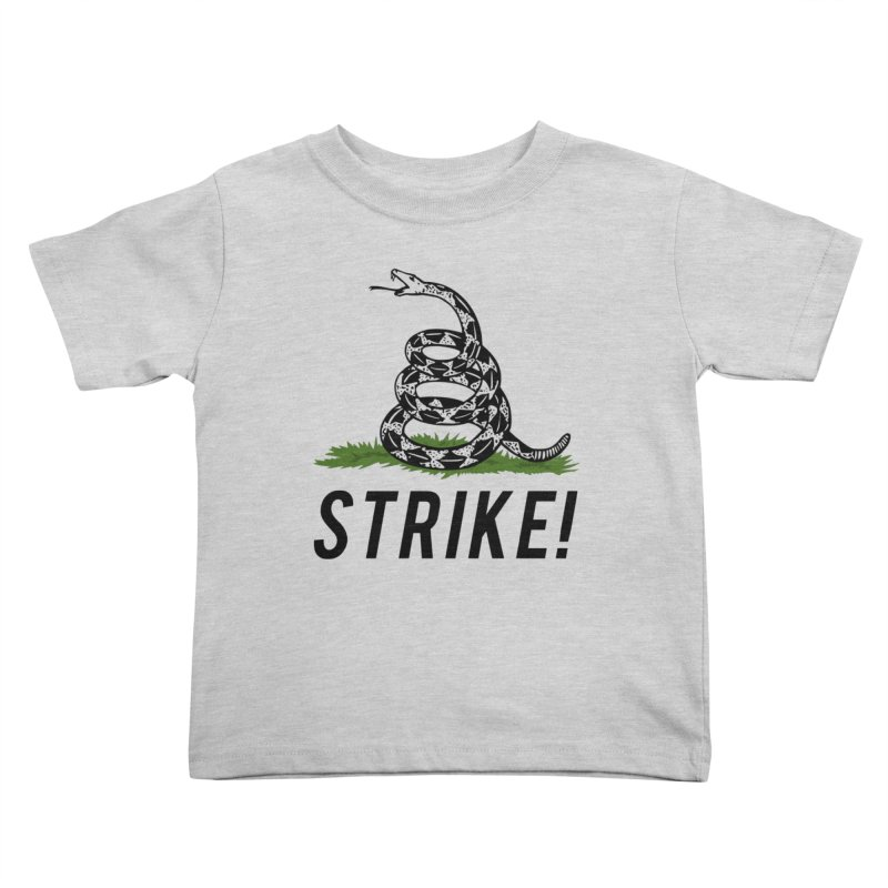 Strike! Kids Toddler T-Shirt by Bernie Threads