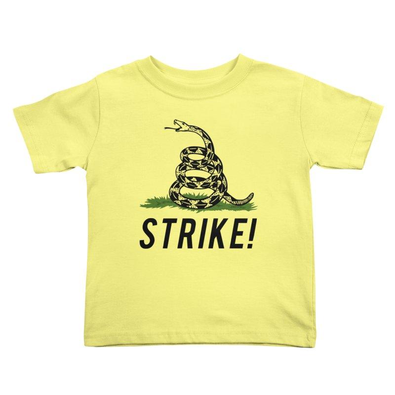 Strike! Kids Toddler T-Shirt by Bernie Threads