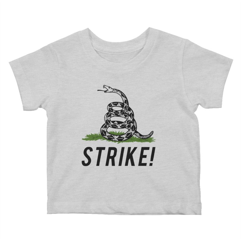 Strike! Kids Baby T-Shirt by Bernie Threads