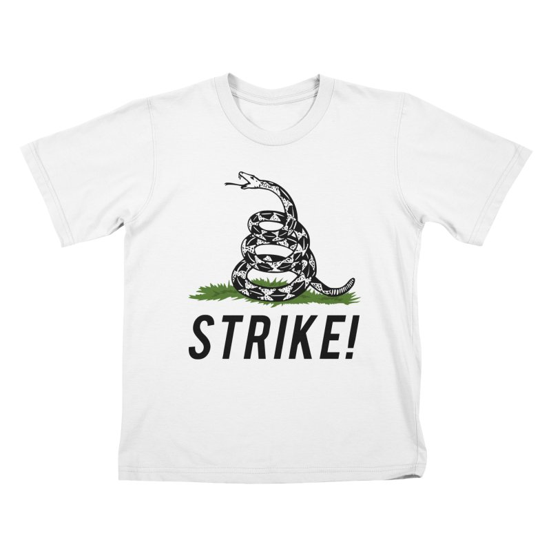 Strike! Kids T-Shirt by Bernie Threads