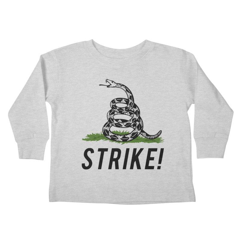 Strike! Kids Toddler Longsleeve T-Shirt by Bernie Threads