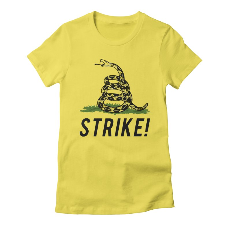 Strike! Women's Fitted T-Shirt by Bernie Threads