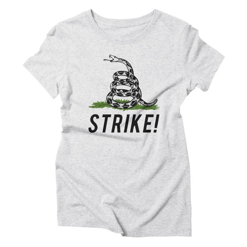 Strike! Women's Triblend T-Shirt by Bernie Threads