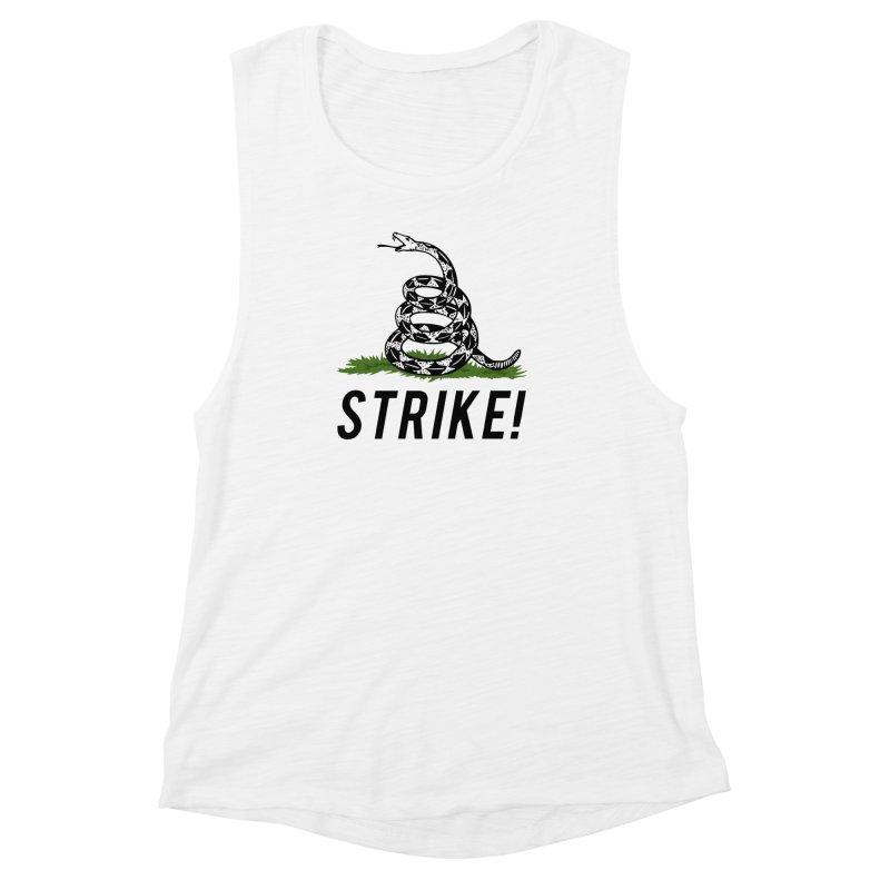 Strike! Women's Muscle Tank by Bernie Threads