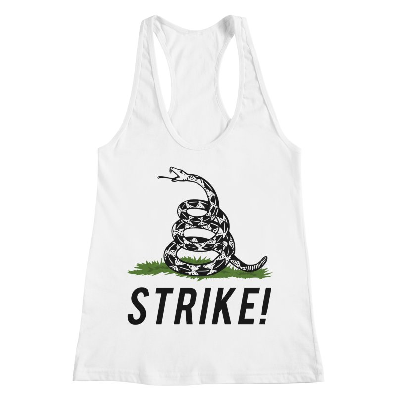 Strike! Women's Racerback Tank by Bernie Threads