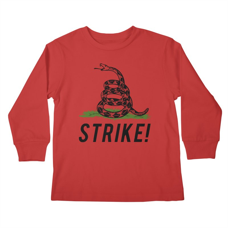 Strike! Kids Longsleeve T-Shirt by Bernie Threads