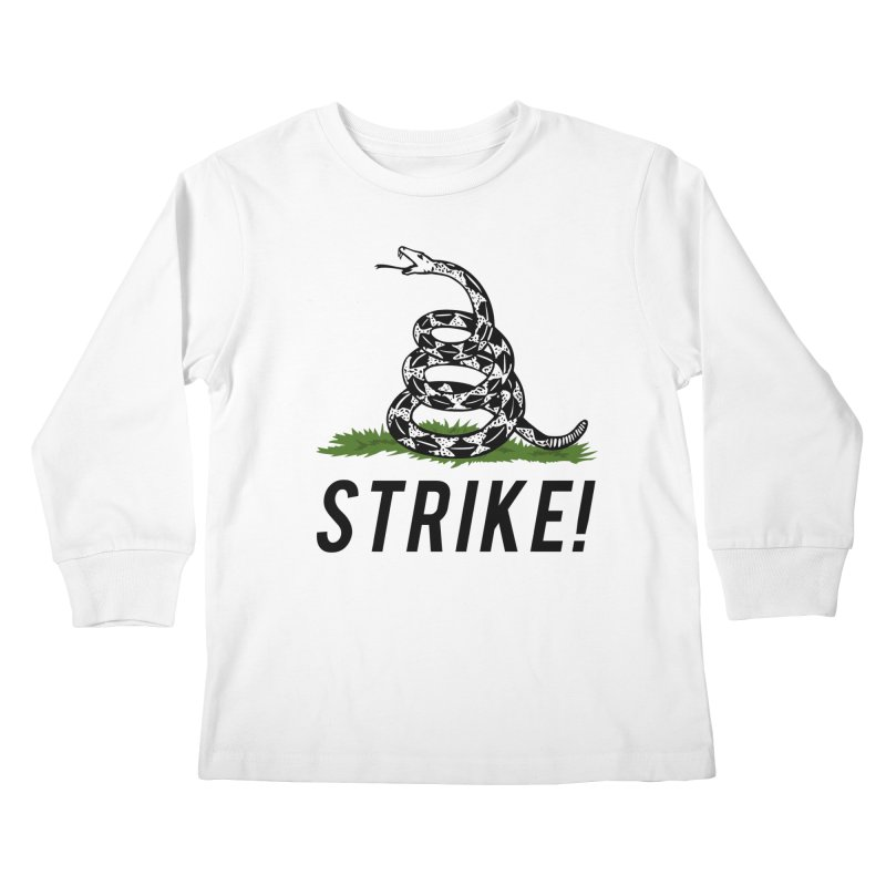 Strike! Kids Longsleeve T-Shirt by Bernie Threads