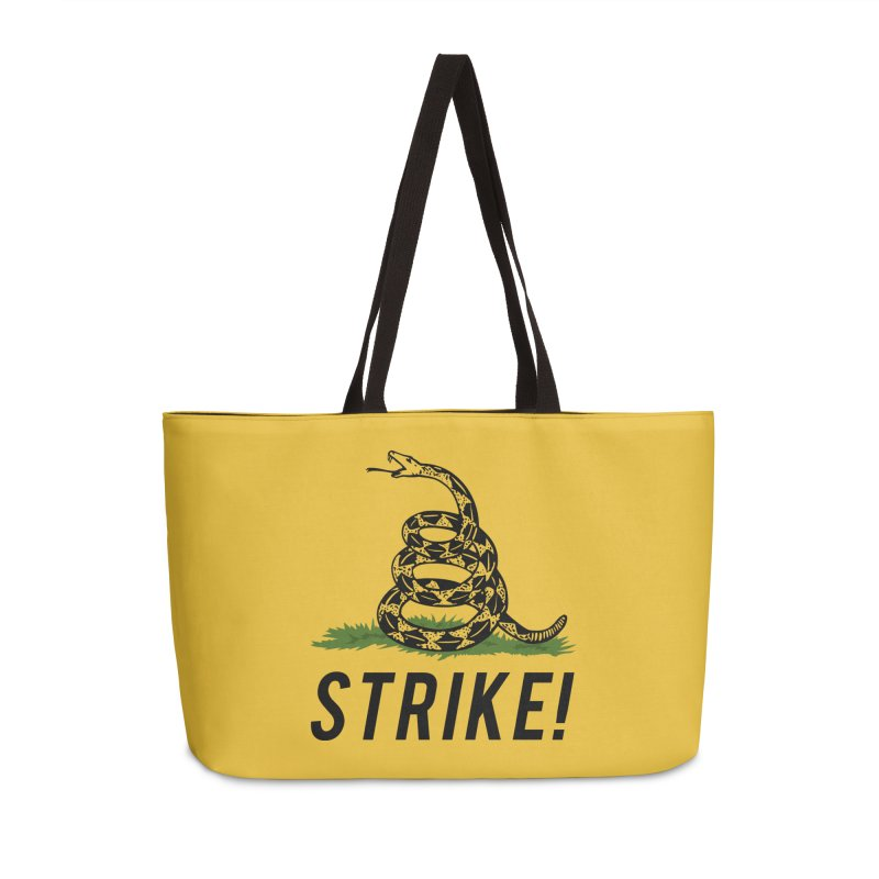 Strike! Accessories Weekender Bag Bag by Bernie Threads