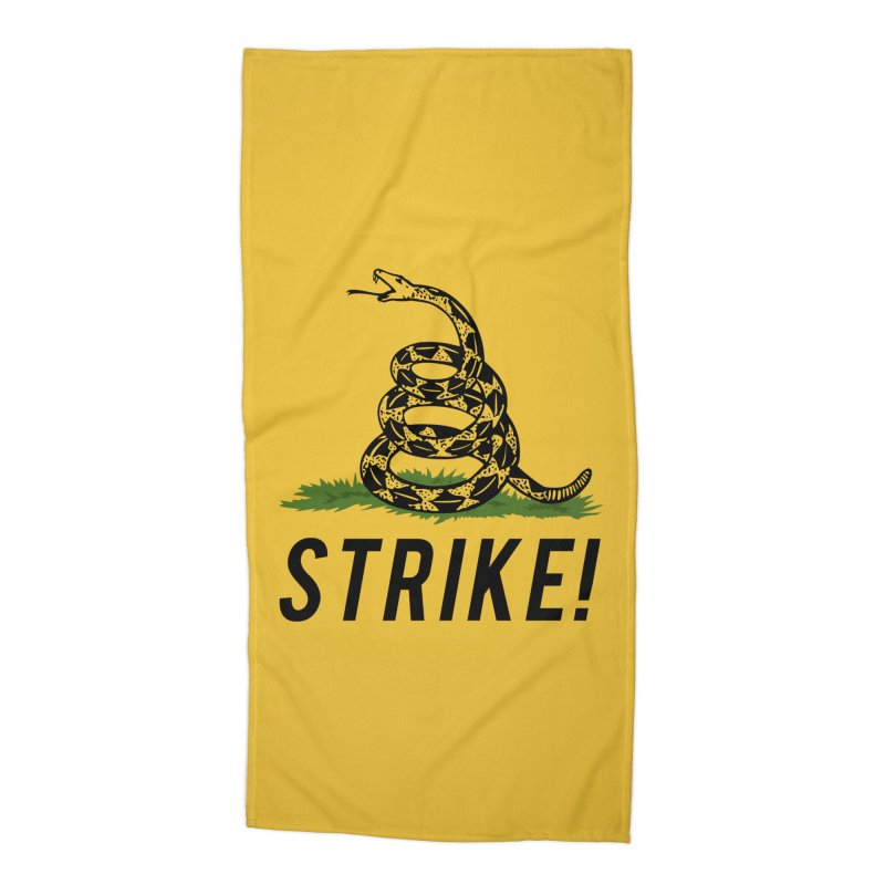 Strike! Accessories Beach Towel by Bernie Threads