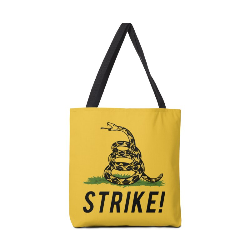 Strike! Accessories Tote Bag Bag by Bernie Threads