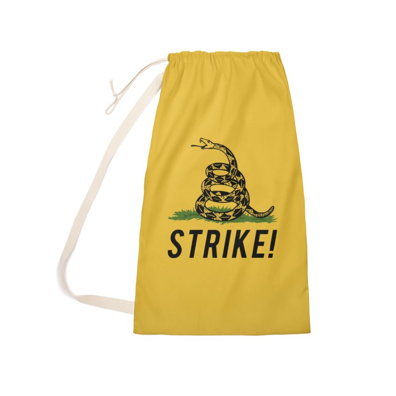 Strike! Accessories Laundry Bag Bag by Bernie Threads