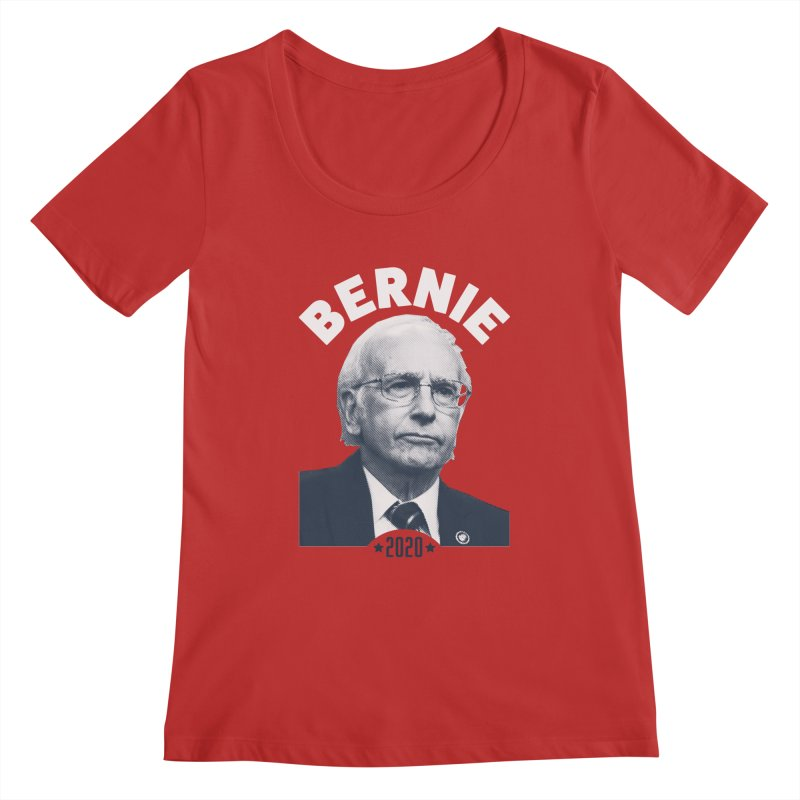 Pretty Good. Women's Regular Scoop Neck by Bernie Threads