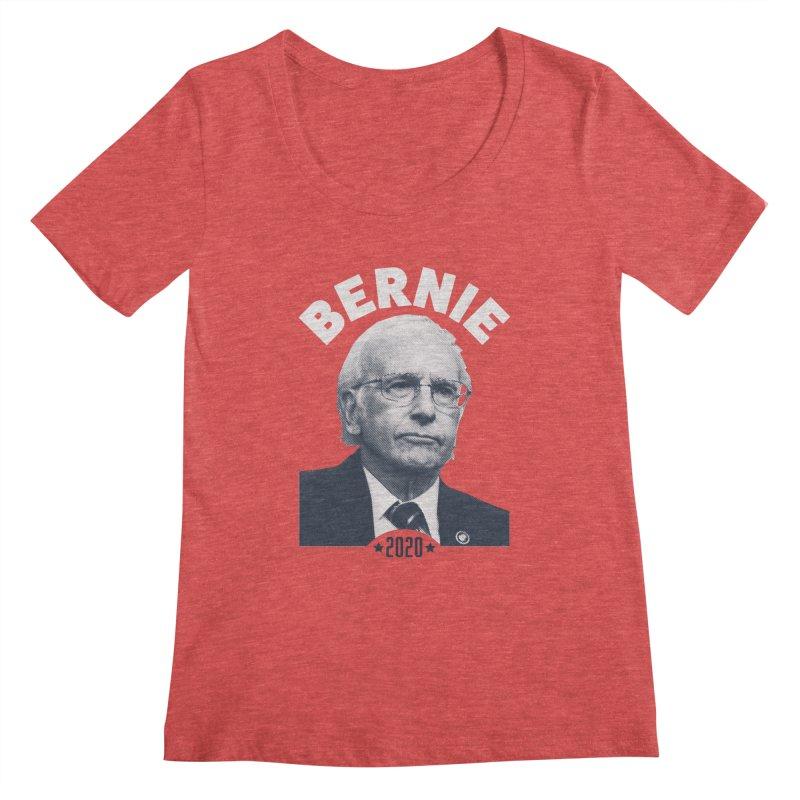 Pretty Good. Women's Scoopneck by Bernie Threads