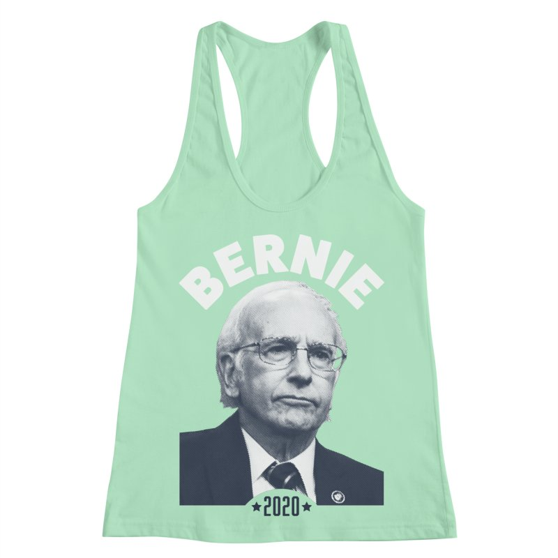 Pretty Good. Women's Racerback Tank by Bernie Threads
