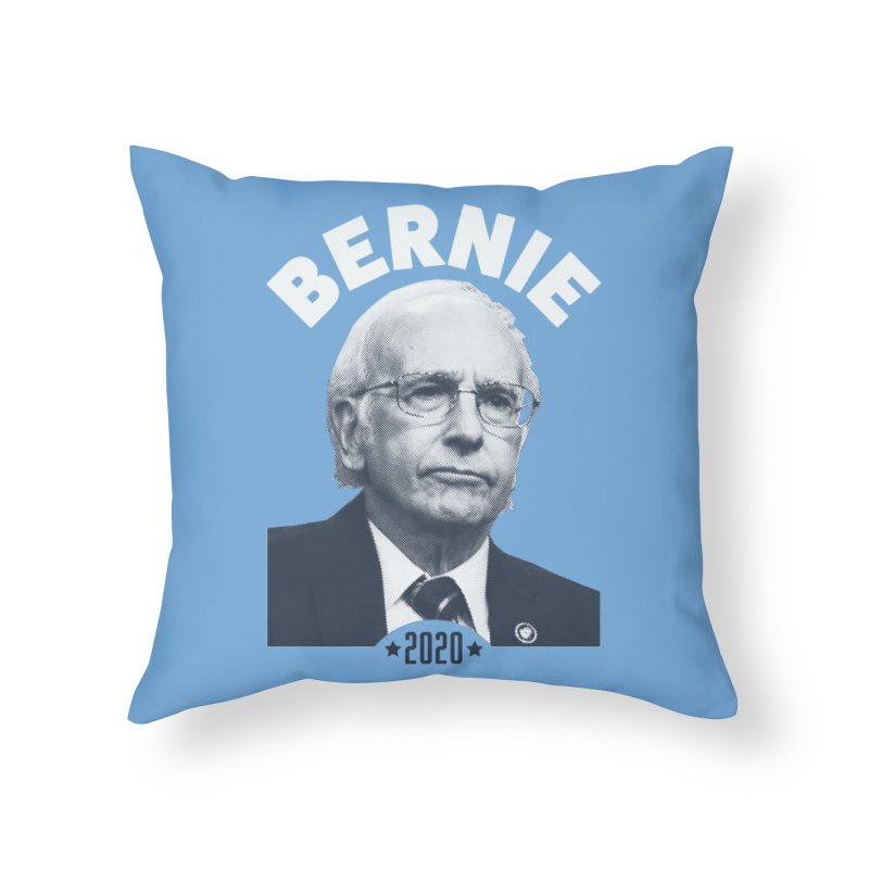 Pretty Good. Home Throw Pillow by Bernie Threads