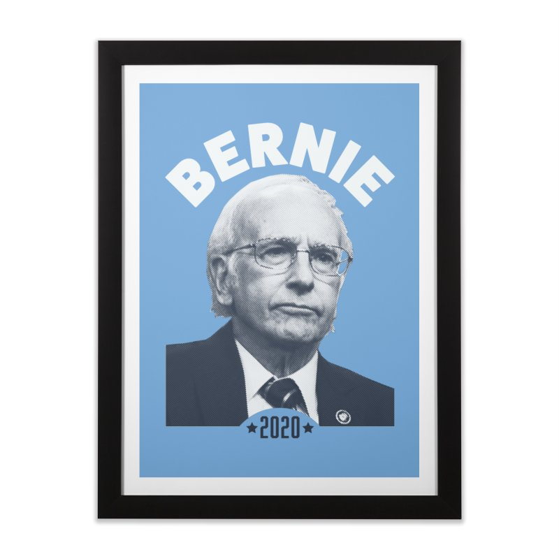 Pretty Good. Home Framed Fine Art Print by Bernie Threads