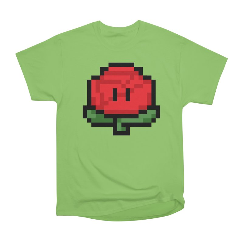 1UP Men's Heavyweight T-Shirt by Bernie Threads