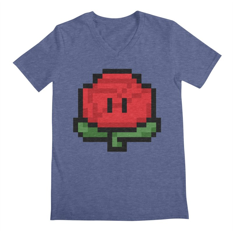 1UP Men's Regular V-Neck by Bernie Threads