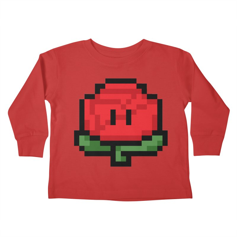1UP Kids Toddler Longsleeve T-Shirt by Bernie Threads