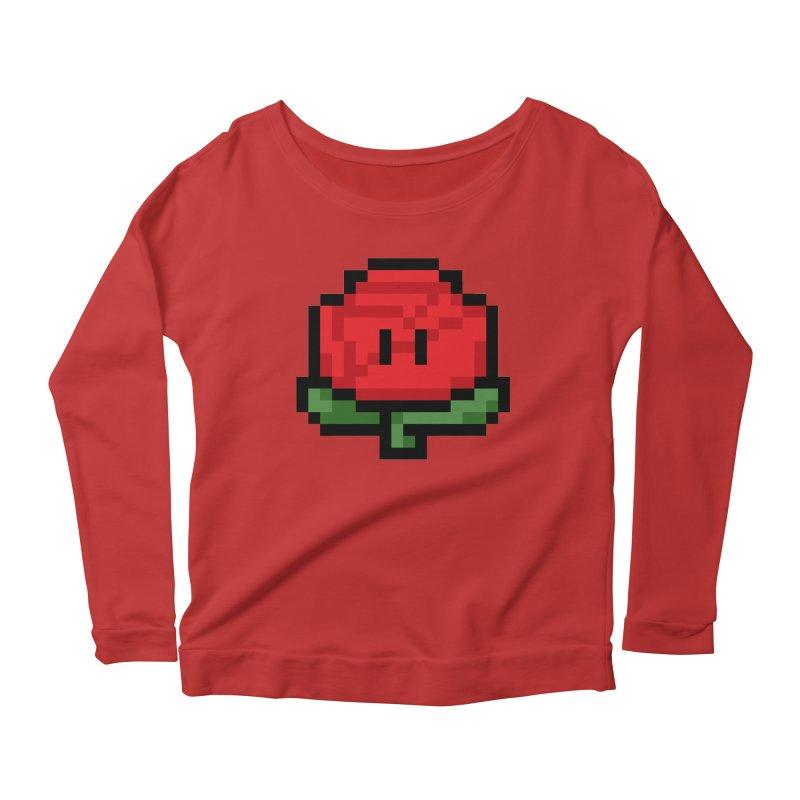 1UP Women's Scoop Neck Longsleeve T-Shirt by Bernie Threads