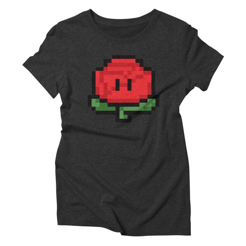 1UP Women's Triblend T-Shirt by Bernie Threads