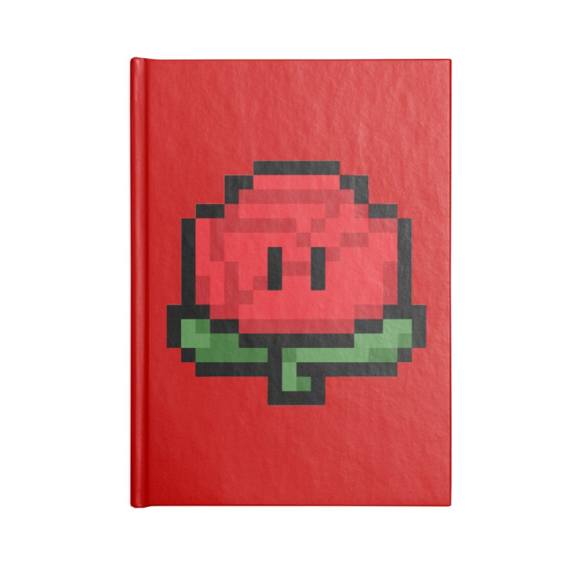 1UP Accessories Lined Journal Notebook by Bernie Threads
