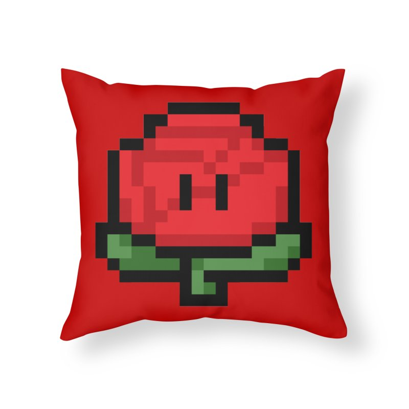 1UP Home Throw Pillow by Bernie Threads