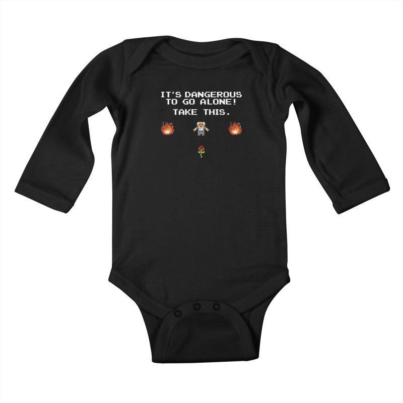 When We Stand Together, We Win. Kids Baby Longsleeve Bodysuit by Bernie Threads