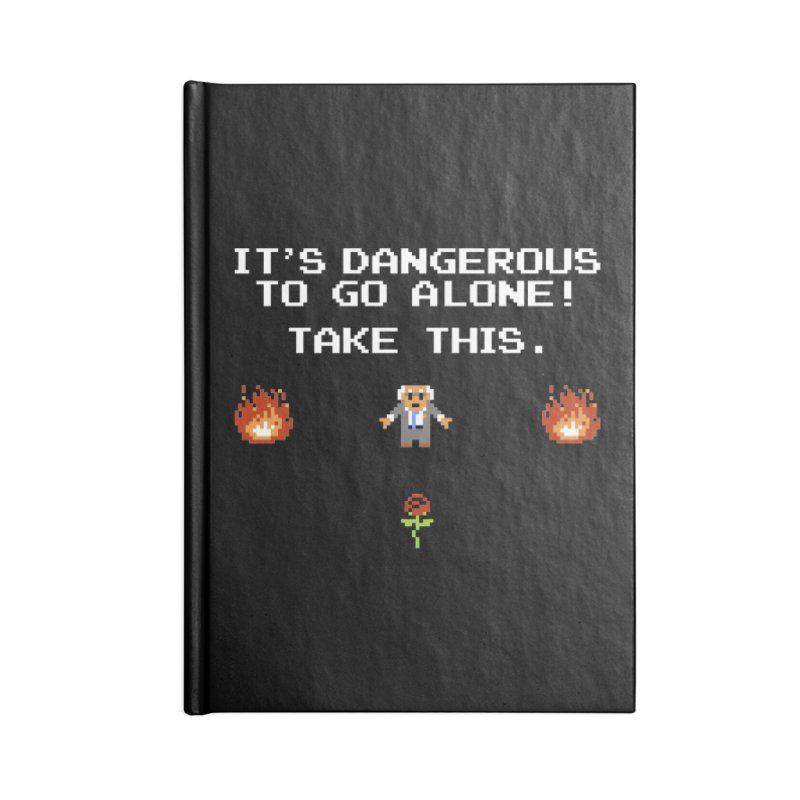 When We Stand Together, We Win. Accessories Lined Journal Notebook by Bernie Threads