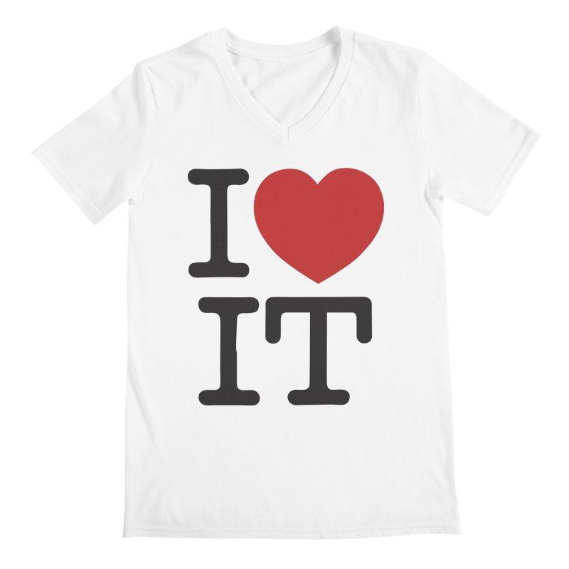 I ❤ IT Men's  by Bernie Threads