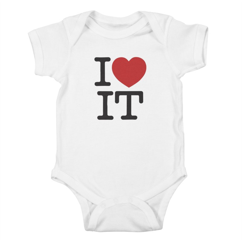I ❤ IT Kids Baby Bodysuit by Bernie Threads