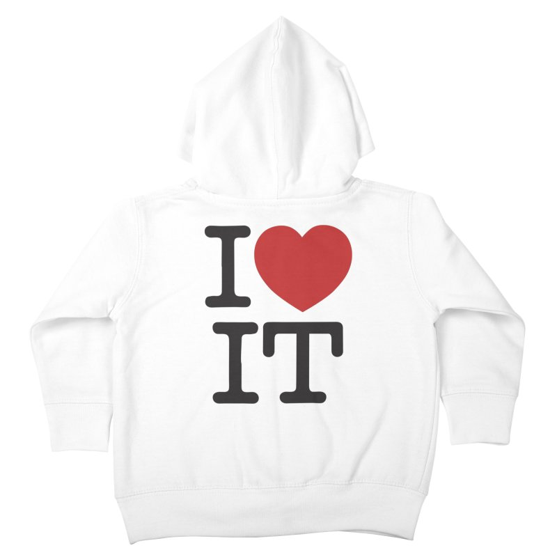 I ❤ IT Kids Toddler Zip-Up Hoody by Bernie Threads