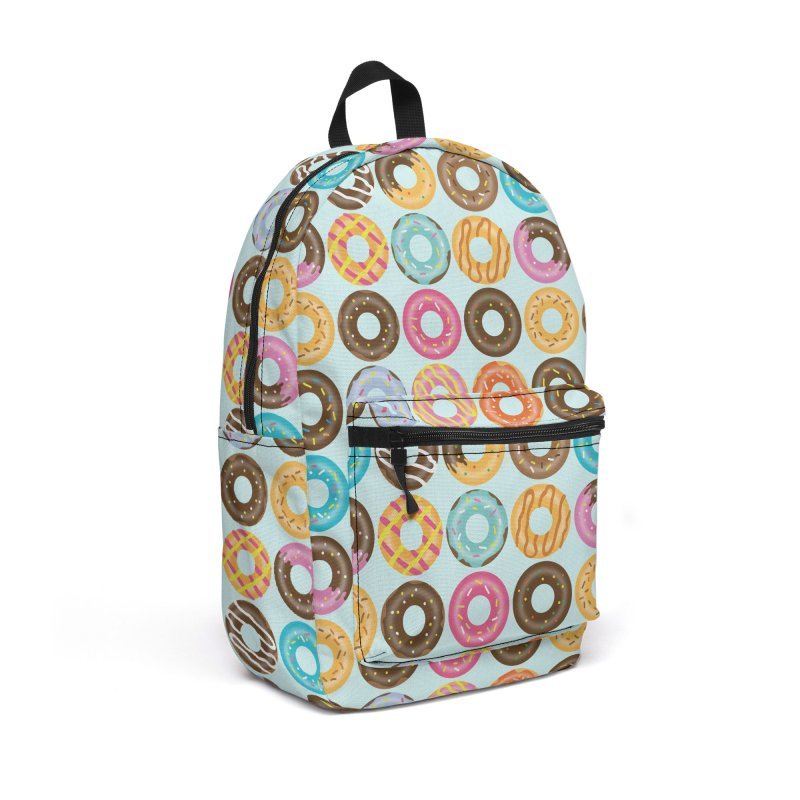Yummy Donut Accessories Backpack Bag by Beryl Design Shop