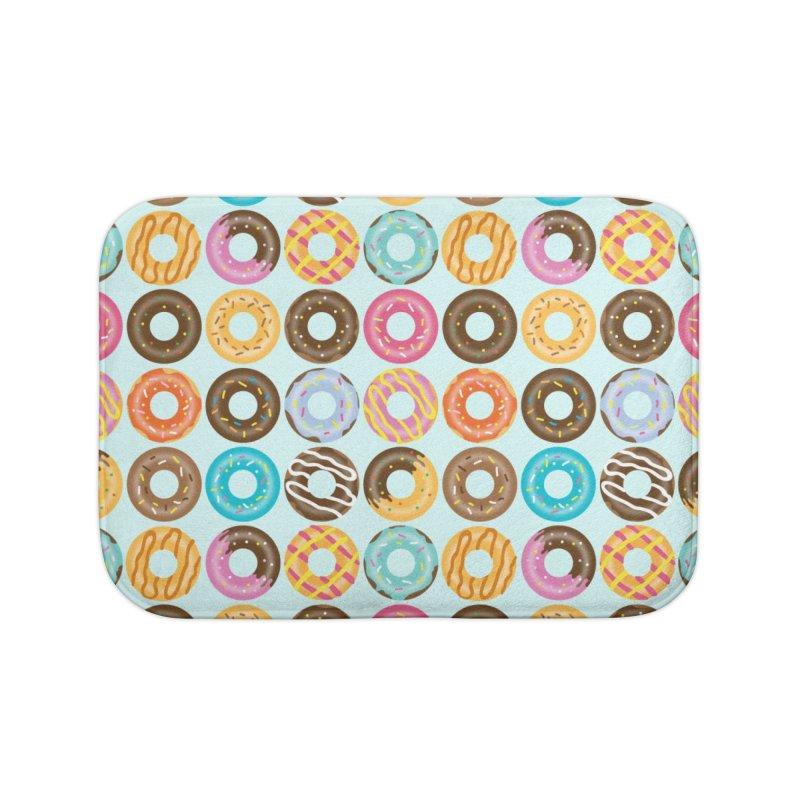 Yummy Donut Home Bath Mat by Beryl Design Shop