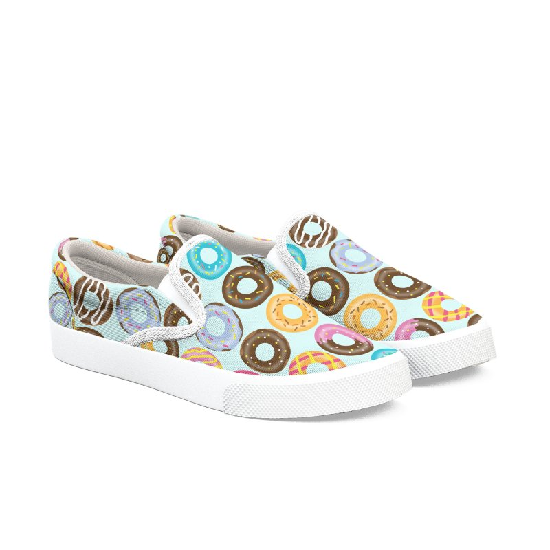 Yummy Donut Women's Slip-On Shoes by Beryl Design Shop