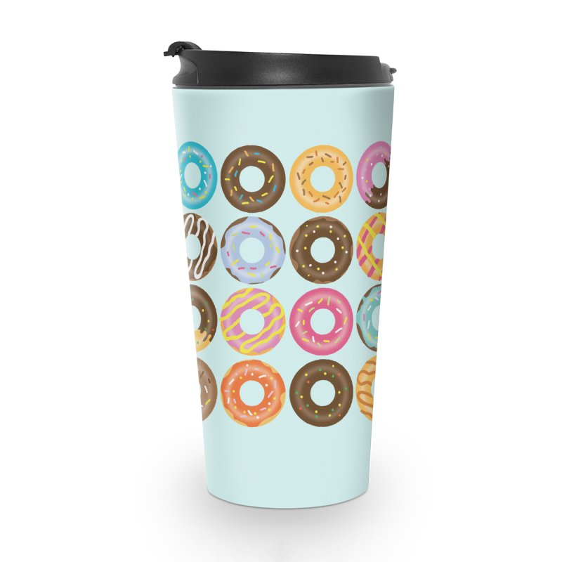 Yummy Donut Accessories Travel Mug by Beryl Design Shop