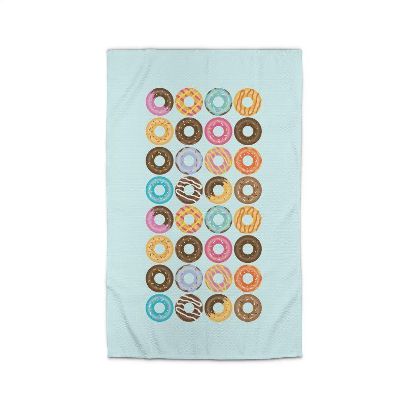 Yummy Donut Home Rug by Beryl Design Shop